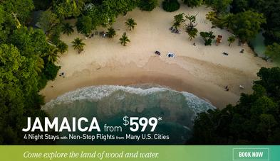 Jamaica all inclusive promo with flights from $599