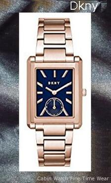 Product specifications Watch Information Brand, Seller, or Collection Name DKNY Model number NY2626 Part Number NY2626 Item Shape rectangle Dial window material type Mineral Display Type Analog Clasp Fold-over-clasp-with-double-push-button-safety Case material Stainless steel Case diameter 26 millimeters Case Thickness 7 millimeters Band Material Stainless steel Band length Women's Standard Band width 10 millimeters Band Color rose gold Dial color Blue Bezel material Stainless steel Bezel function Stationary Special features Water Resistant Item weight 8.80 Ounces Movement Japanese quartz Water resistant depth 165 Feet