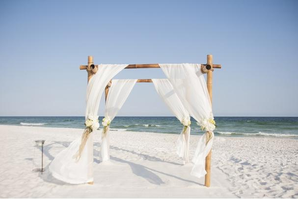 Orange Beach AL Beach Wedding Ceremony Only Services