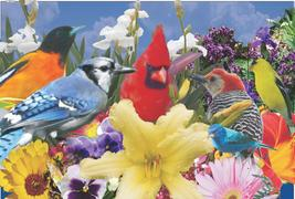naturally Grand birds and flower
