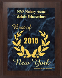 NYS Notary Association License Classes Seminars Training