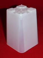 Best clear plastic orchid pot 2.25 inch square slots small seedling