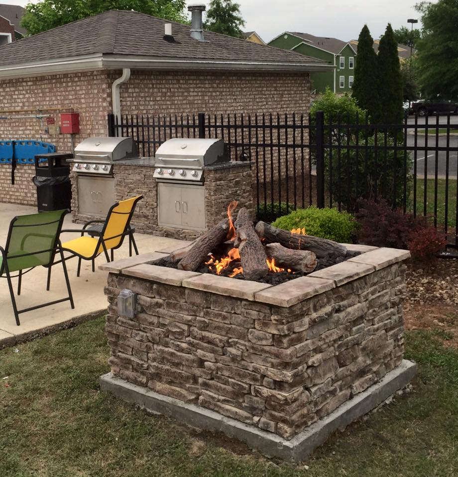 outdoor kitchens fire pits fireplaces big green egg grills