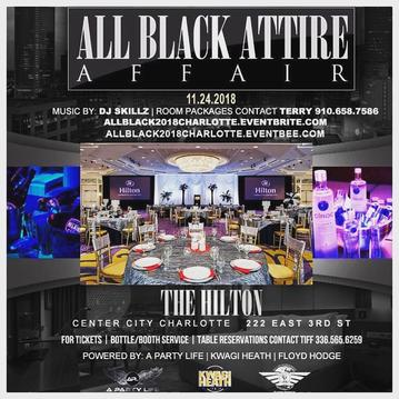 all black attire affair