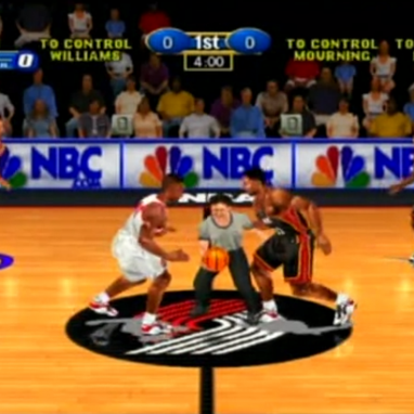 NBA Basketball Arcade Game