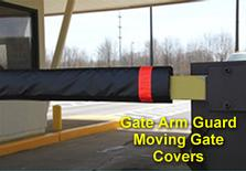 Gate Arm Guard Moving Gate Covers