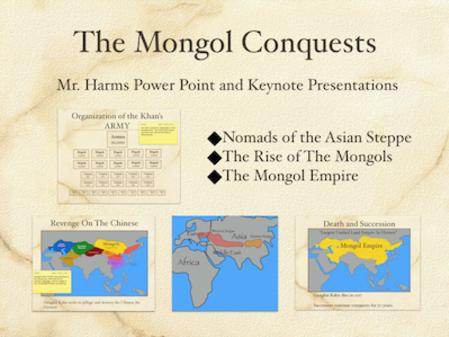 The Mongol Conquests PowerPoint