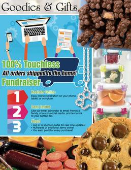 Goodies & Gifts 100 Percent Touchless Fundraiser