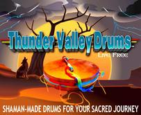 an illustration of thunder valley drums