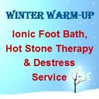 Ionic Foot Bath, Hot Stone Therapy, Destress Service in Ann Arbor