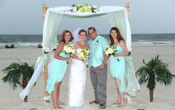 Alabama All Inclusive Beach Wedding Reception And Ceremony Pkg