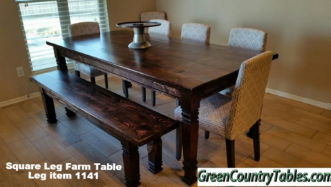 Farm Table And Bench Pricing - How to make a farm table