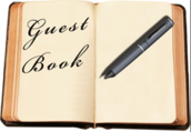 Click to sign our guest book