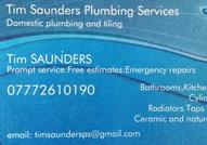 Tim Saunders Plumbing Services