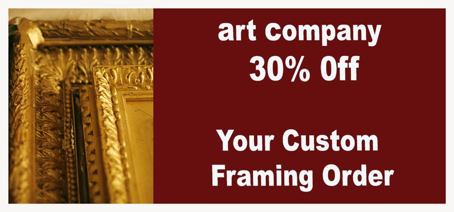 custom picture framing ponte vedra nocatee