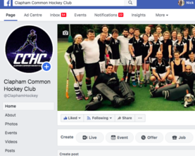 Clapham Common Hockey Club Facebook Page