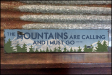 Mountain Lifestyle Signs