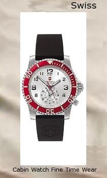 Victorinox Swiss Army Men's 241177 Maverick II Dual Time Silver Dial Watch,swiss