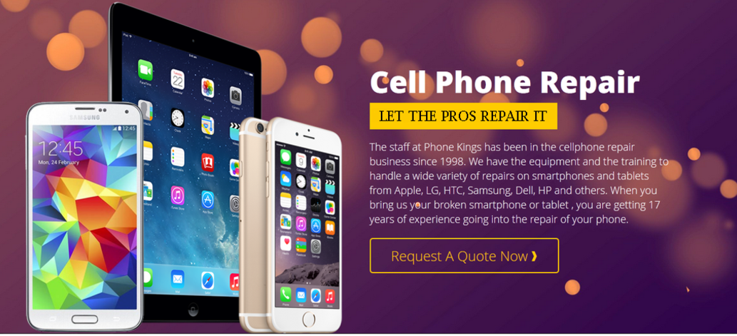 iphone repair, samsung repair phone kings