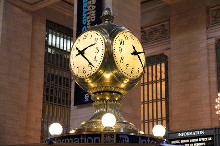 Grand Central Terminal Clock.