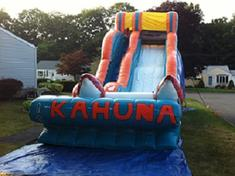 kahuna water slide for rent