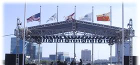 Stage and Roof Rental Brevard County