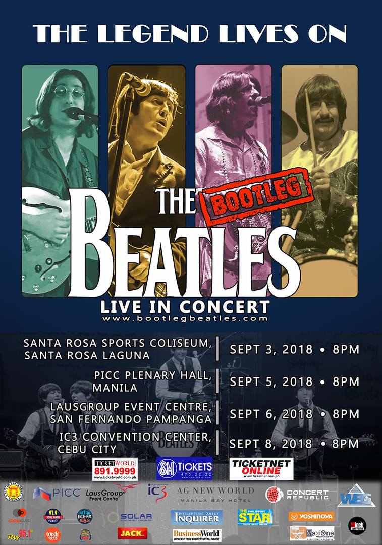 The Bootleg Beatles 2018-2019 Concert Tour | Concert Republic
