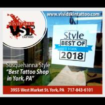 Vivid Skin Tattoo Studio Best Tattoo Shop York Pa