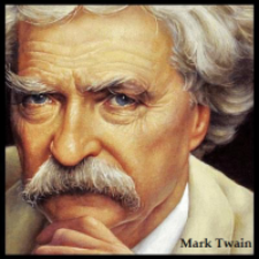 ipi American Author MARK TWAIN; Introduction to SAMUEL LANGHORNE CLEMENS. 1835-1910