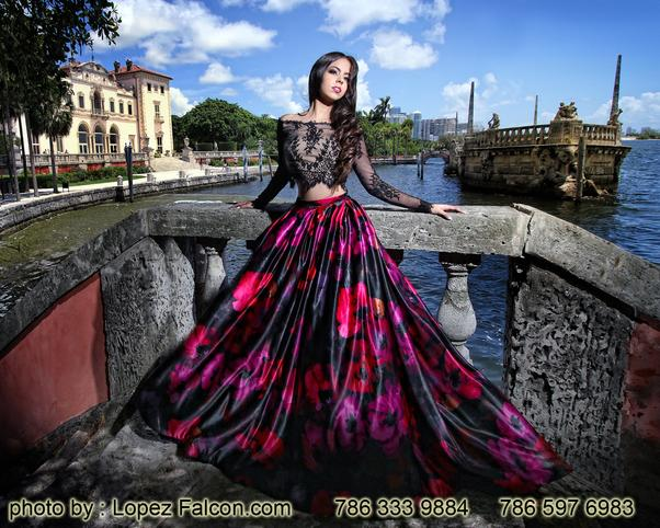 Vizcaya Quinces Dresses Miami Quinceanera Dress