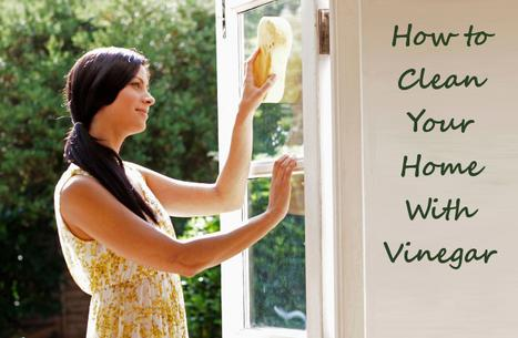 house cleaning with vinegar