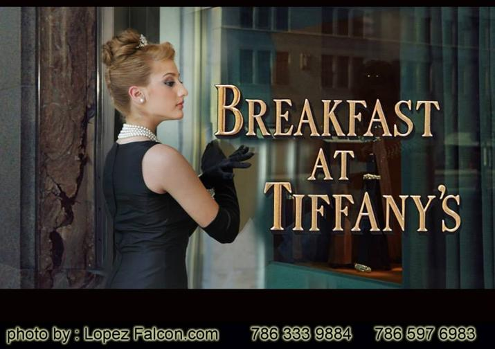 Breakfast at Tiffany's quinceanera photography video dresses miami