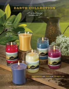 Heritage Candles Earth Candles Fundraising Brochure