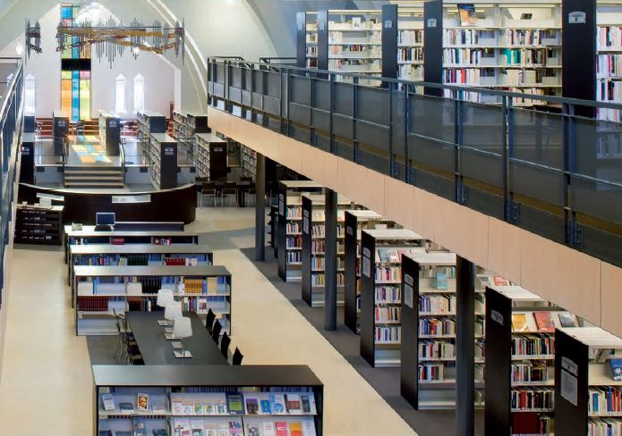 Library Design Systems - Library Furniture, Library Shelving
