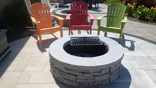 ... Unilock Rivercrest Fire Pit Kit ... - Unilock Rivercrest Fire Pit Kit. Romanstack® Firepit Kit Unilock