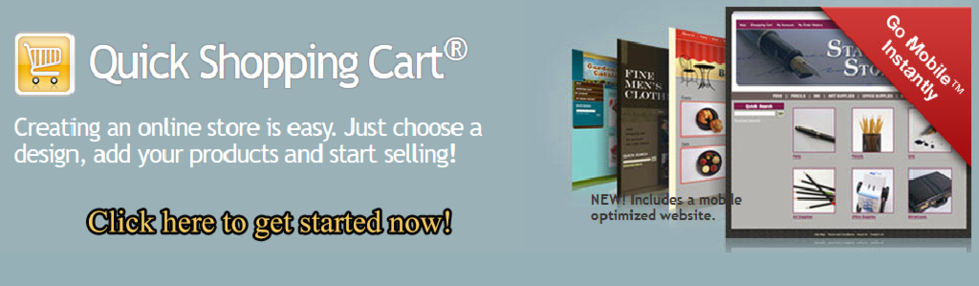 Get a shopping cart for your website