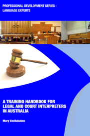 Training handbook for legal and court interpreters
