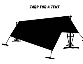 Tarp for a Tent