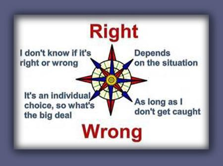 America's moral compass
