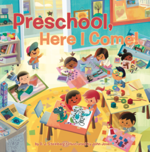 Preschool Here I Come Book Cover