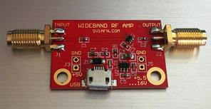 Wideband amplifier general purpose