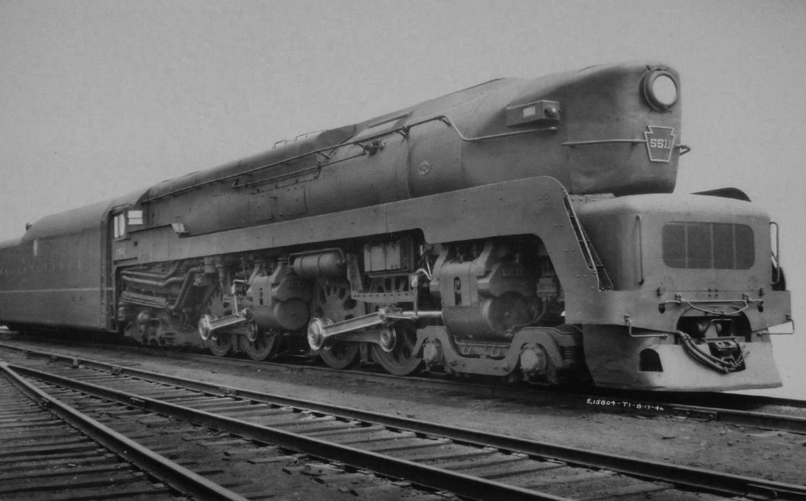 Pennsylvania Railroad T1 Steam Locomotive