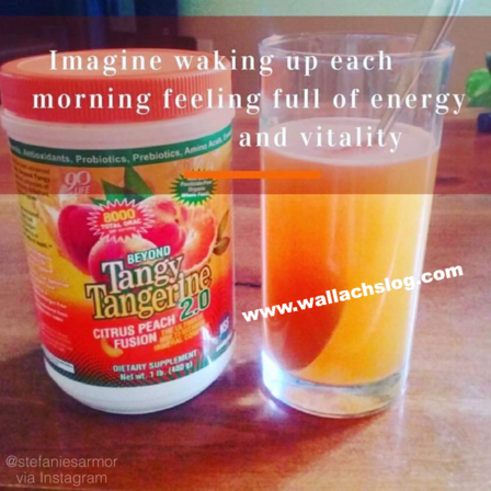 WAKE UP EACH DAY FULL OF ENERGY AND VITALITY!