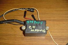 Used ignition CD module for a Force outboard F475301-1 and 300-888787