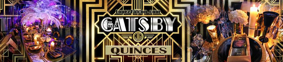 Gatsby Quinces Party Miami Qinceanera Great Gatsby photos Shoot Miami Quince Parties Dresses Dress Photo Video