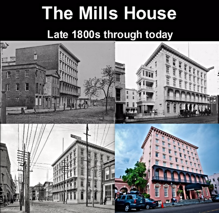 Mills House haunted hotel in Charleston