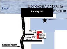 map of hawaii nautical honokohau harbor