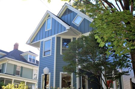 Hardie Siding Boothbay Blue Chevy Chase, MD
