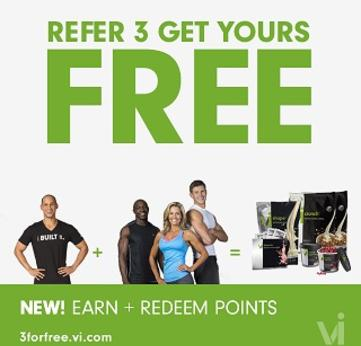 Get Free Protein Powder And Free Supplements With The Body By Vi 3 For Free Program