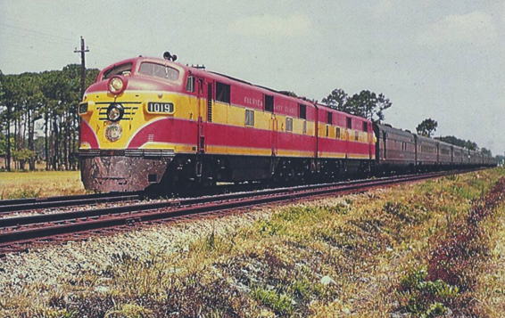 Florida East Coast streamliner.
